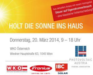 2014 03 20 Einladung PV Tagung Mein Sonnenstrom DB | Photovoltaik Österreich