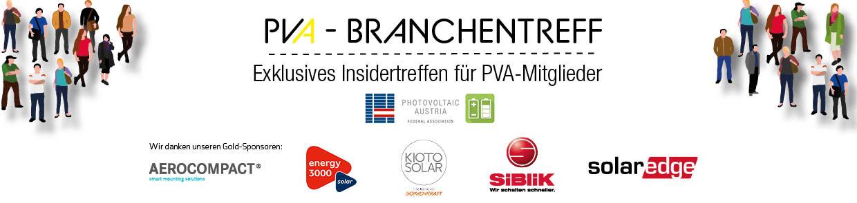 2021 Branchentreff Banner NL1 | Photovoltaik Österreich