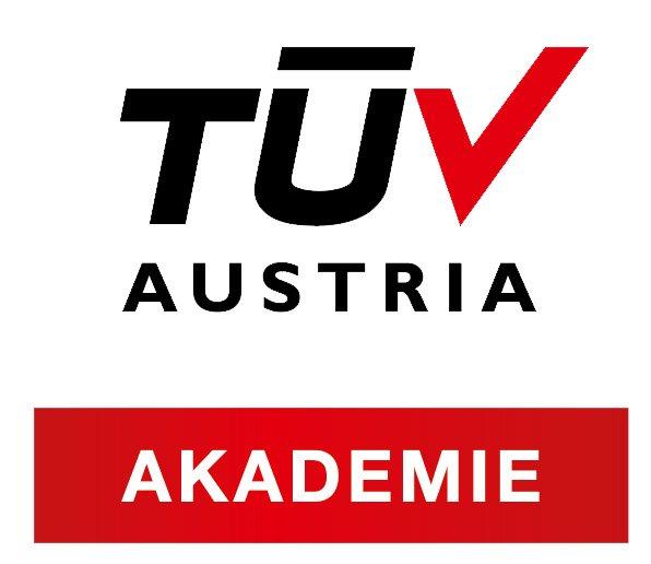 TÜV AKADEMIE Zusatz mit logo