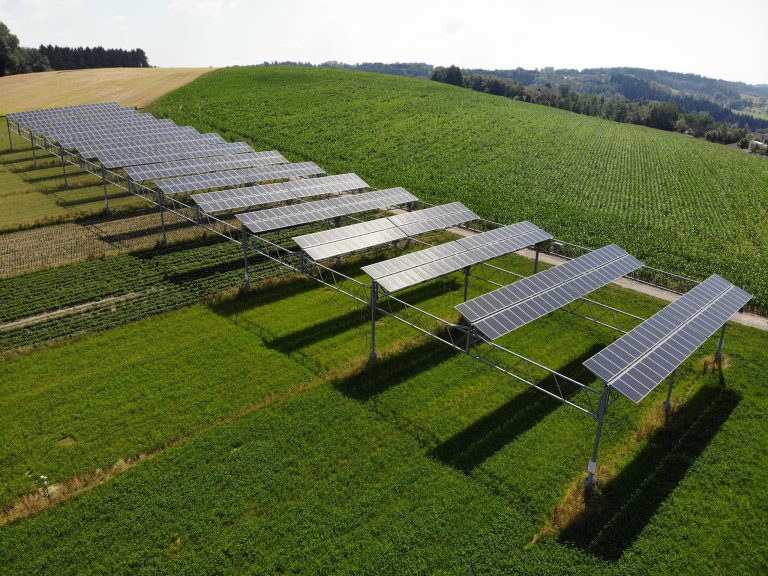 APV Anlage Heggelbach c ISE Fraunhofer | Photovoltaik Österreich