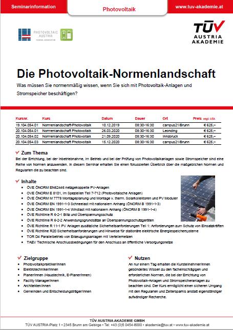 Bild HP | Photovoltaik Österreich