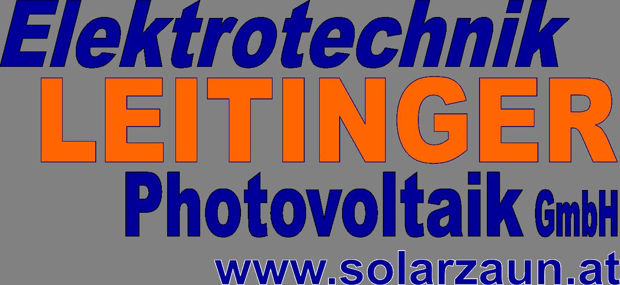 Logo mit Solarzaun