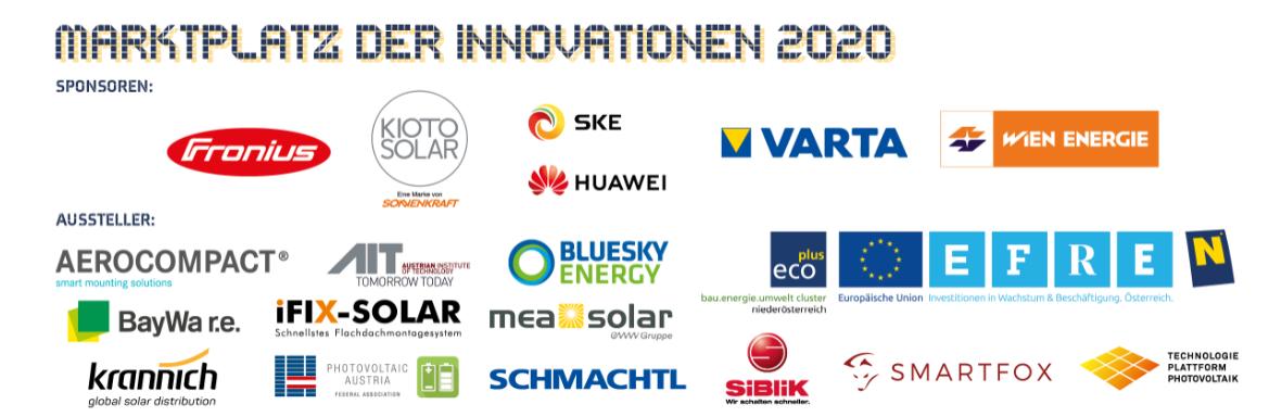 Marktplatz 2020 Fachtagung | Photovoltaik Österreich