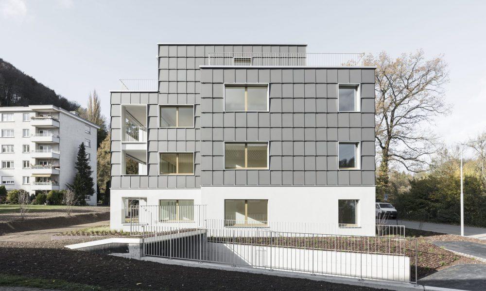 Mehrfamilienhaus mit Energiezukunft - ein Projekt der Umwelt Arena Schweiz in Zusammenarbeit m. René Schmid Architekten AG (c) Beat Bühler 1